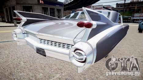 Cadillac Eldorado v2 для GTA 4 вид сзади слева