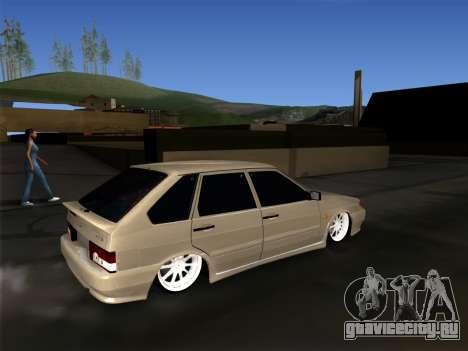 ВАЗ 2114 БПАН для GTA San Andreas вид слева