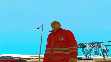 Форма медика из DayZ Standalone для GTA San Andreas третий скриншот
