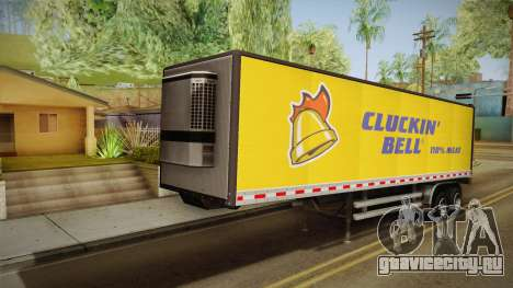 GTA 5 Refrigerated Trailer IVF для GTA San Andreas