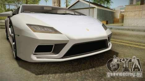 GTA 5 Pegassi Tempesta для GTA San Andreas вид сверху