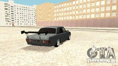 Волга 31029 корчь [Full version] для GTA San Andreas вид сзади слева