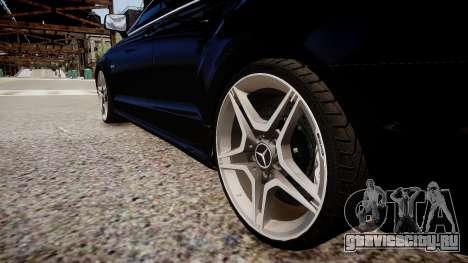 Mercedes-Benz CLS 6.3 AMG'12 для GTA 4 вид сзади