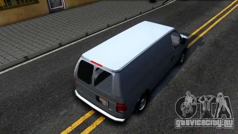 Ford E-150 v.2 для GTA San Andreas вид сзади