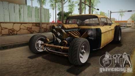 GTA 5 Declasse Tornado Rat Rod IVF для GTA San Andreas