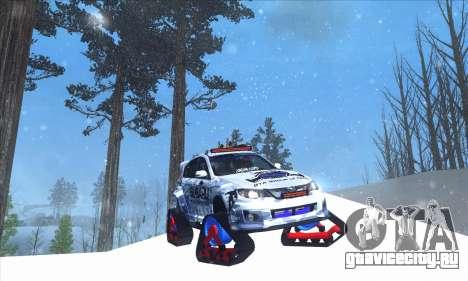 Subaru Impreza WRX STi Snow для GTA San Andreas