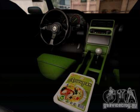 Infernus Hard Stunt для GTA San Andreas вид изнутри