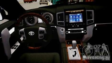 Toyota Land Cruiser 200 для GTA 4