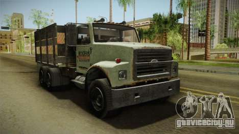 GTA 5 Vapid Scrap Truck v2 для GTA San Andreas