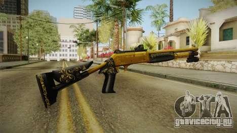 Killing Floor Combat Shotgun Gold для GTA San Andreas третий скриншот