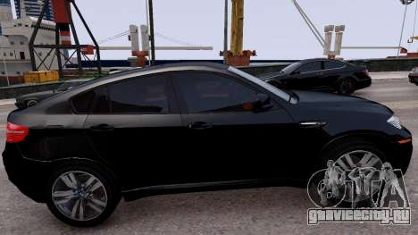 BMW X6M by DesertFox v.1.0 для GTA 4 вид слева