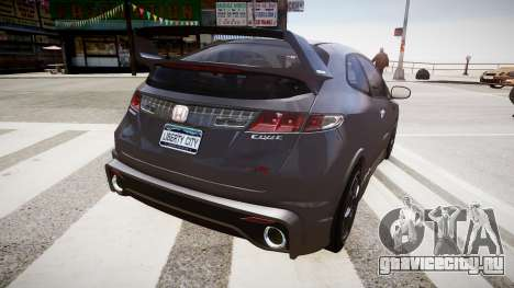 Honda Civic Type R Mugen '2010 v1.5 для GTA 4