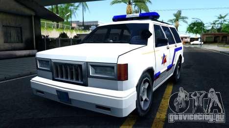 Landstalker Hometown Police Department 1994 для GTA San Andreas