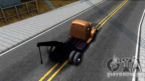 ГАЗ-51 Эвакуатор для GTA San Andreas вид сзади