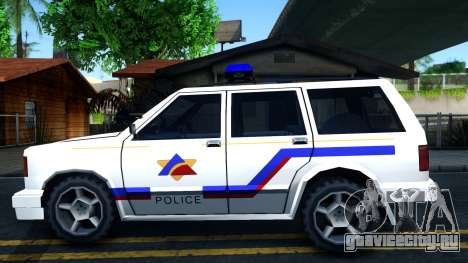 Landstalker Hometown Police Department 1994 для GTA San Andreas