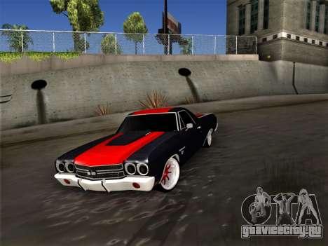 Chevrolet Camino SS 1970 для GTA San Andreas