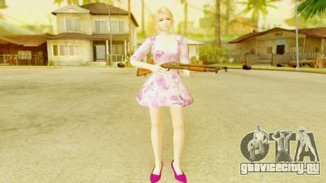 Dead Or Alive 5: LR - Marie Rose Casual Dress для GTA San Andreas