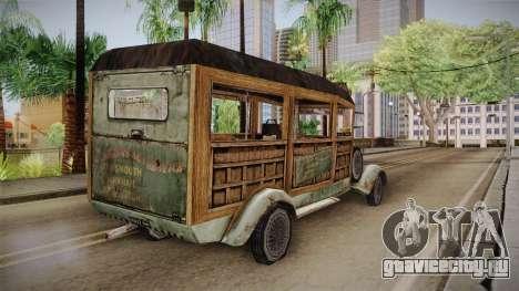 Автобус Ктулху для GTA San Andreas вид сзади слева
