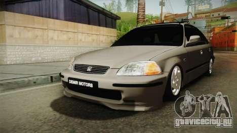 Honda Civic 1.6 iES для GTA San Andreas вид справа