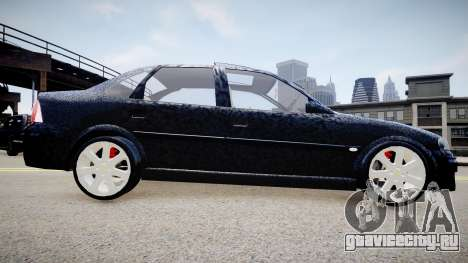 Chevrolet Vectra CD для GTA 4 вид слева
