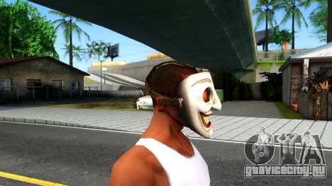 Joker Clan Mask From Injustice Gods Among Us для GTA San Andreas третий скриншот