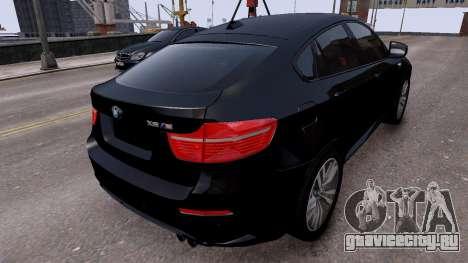 BMW X6M by DesertFox v.1.0 для GTA 4 вид сзади слева