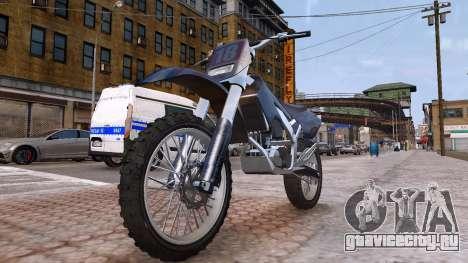 GTA V Sanchez Mod для GTA 4 вид справа