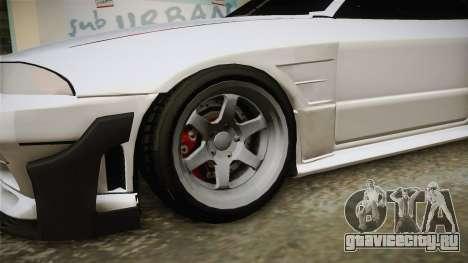 GTA 5 Annis Elegy Retro Custom для GTA San Andreas вид сзади