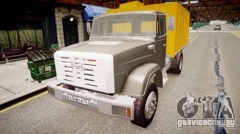 ЗиЛ 4331 Мусоровоз для GTA 4