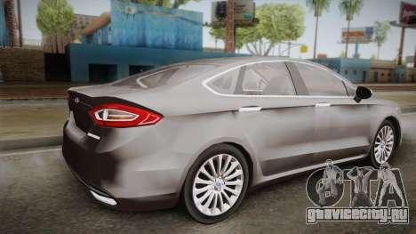 Ford Fusion Titanium 2014 для GTA San Andreas вид слева