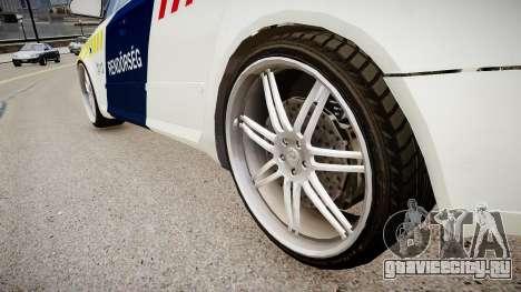 Hungarian Audi Police Car для GTA 4 вид сзади