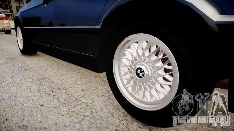 BMW 535i E34 v3.0 для GTA 4 вид сзади