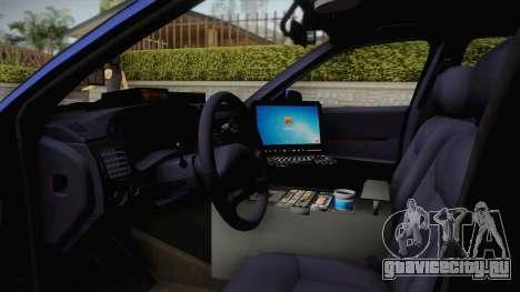 Chevrolet Impala 2004 Detective Unmarked для GTA San Andreas вид изнутри