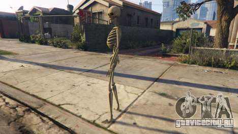 Skeleton 1.0 для GTA 5 второй скриншот