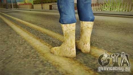 Зимние валенки для GTA San Andreas второй скриншот