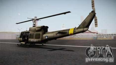 Bell UH-1N для GTA San Andreas вид справа