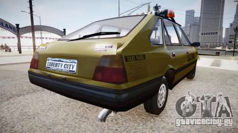 FSO Polonez TAXI для GTA 4 вид слева