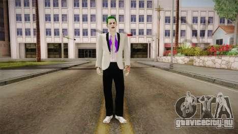 Joker White Suit 2.0 для GTA San Andreas второй скриншот