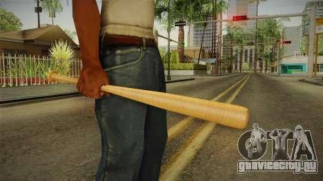 Wooden Bat для GTA San Andreas