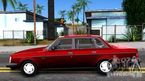 Volvo 244 Turbo для GTA San Andreas вид слева