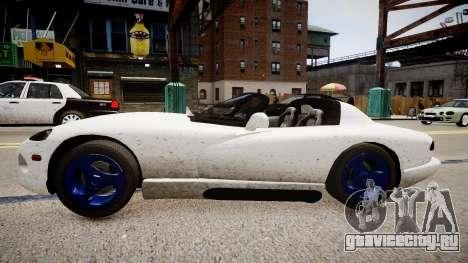 Aston Martin Vanquish NYPD для GTA 4 вид слева