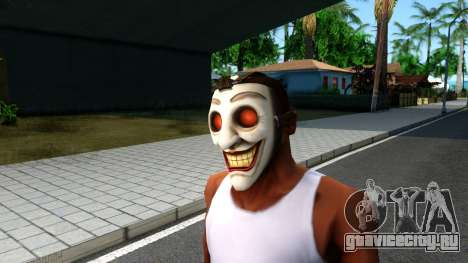 Joker Clan Mask From Injustice Gods Among Us для GTA San Andreas второй скриншот