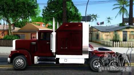 Realistic Linerunner для GTA San Andreas вид слева