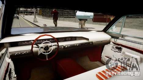 New style Voodoo для GTA 4 вид изнутри