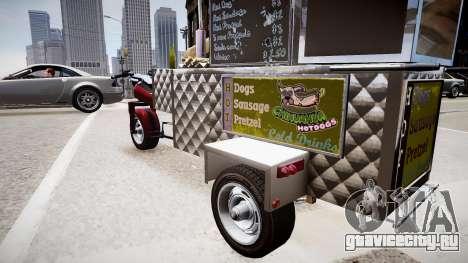 Hotdog Express для GTA 4 вид сзади