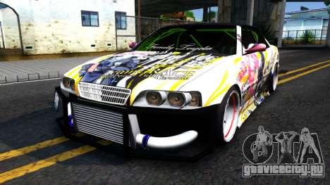 Toyota Chaser Seulbi Lee Itasha Drift для GTA San Andreas
