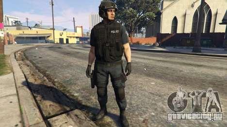 LSPD SWAT Ped Model 1.2.2 для GTA 5