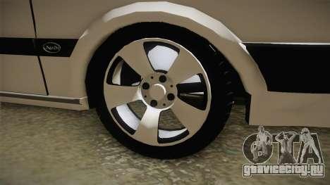 Audi 80 CD для GTA San Andreas вид сзади