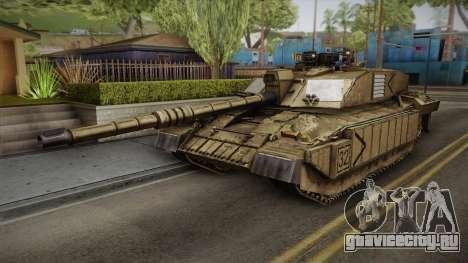 Challenger 2 Desert для GTA San Andreas