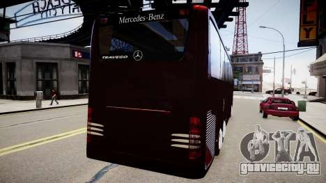 Mercedes-Benz Travego для GTA 4 вид сзади